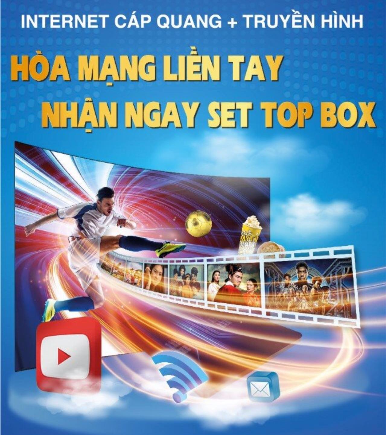 VTVcab Lào Cai khuyến mãi gói combo internet và cáp truyền hình hD