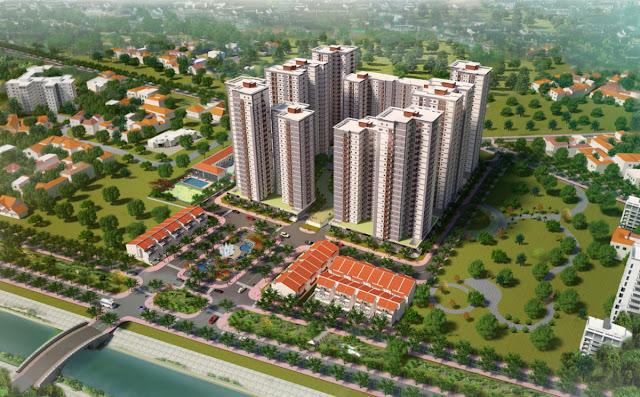 Căn hộ Vision Bình Tân giá 746 triệu/căn, giao nhà quý 4/2017