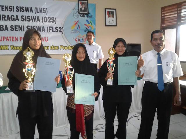 Lomba Keterampilan Siswa (LKS) Kabupaten Pringsewu 2017
