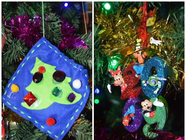 Our Disney Christmas Decorations