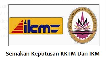 Keputusan KKTM Dan IKM online