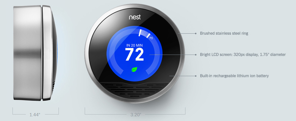 The Sketchpad Nest The Learning Thermostat