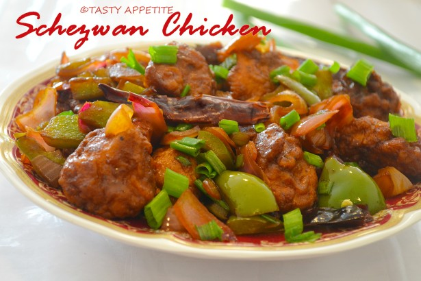 Schezwan Chilly Chicken