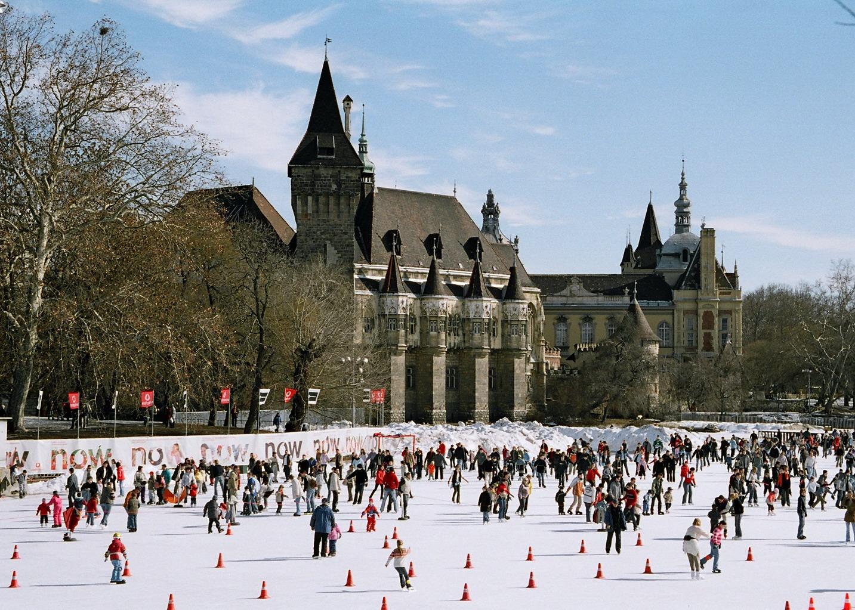 Ice Skating City Park Budapest