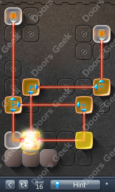 Solution for Laser Box - Puzzle (Basic) Level 16