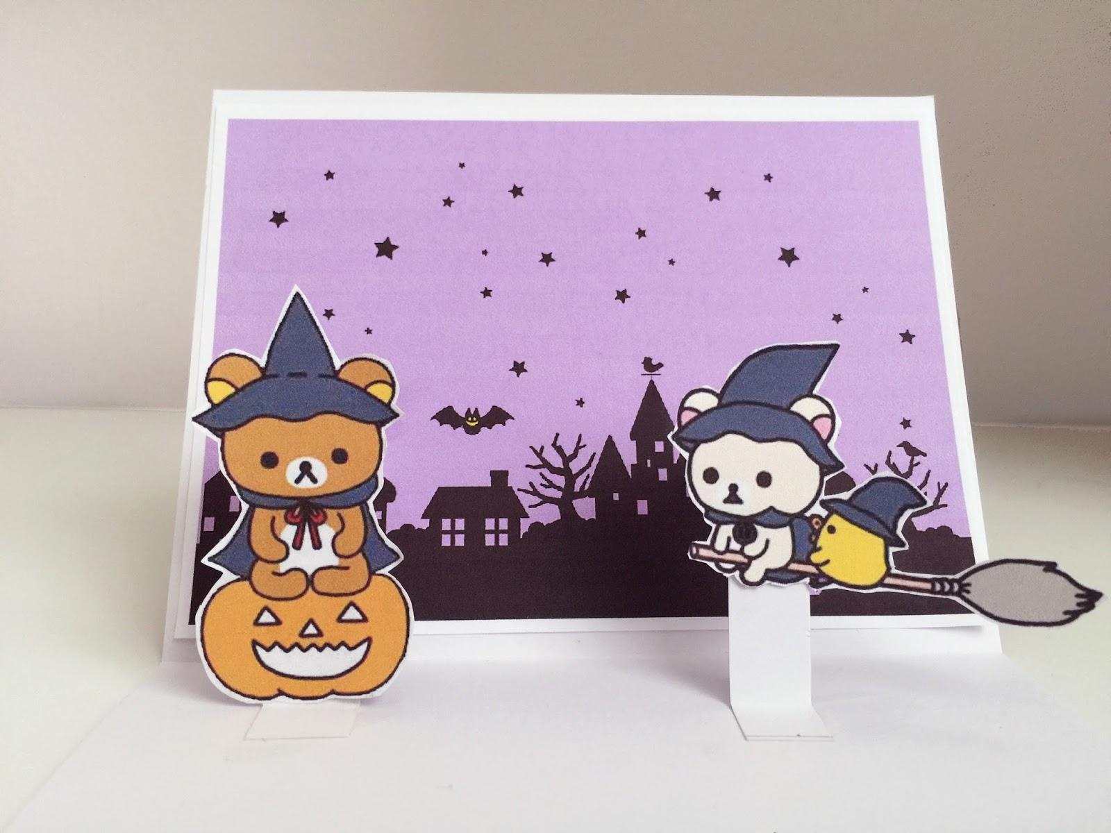 Mary Bear - Kawaii Lifestyle: Kawaii Halloween DIY ♡ Rilakkuma ...