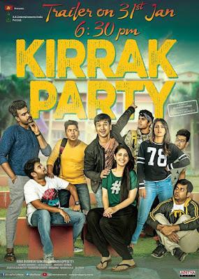 Poster Kirrak Party 2018 Hindi Dubbed HD 720p