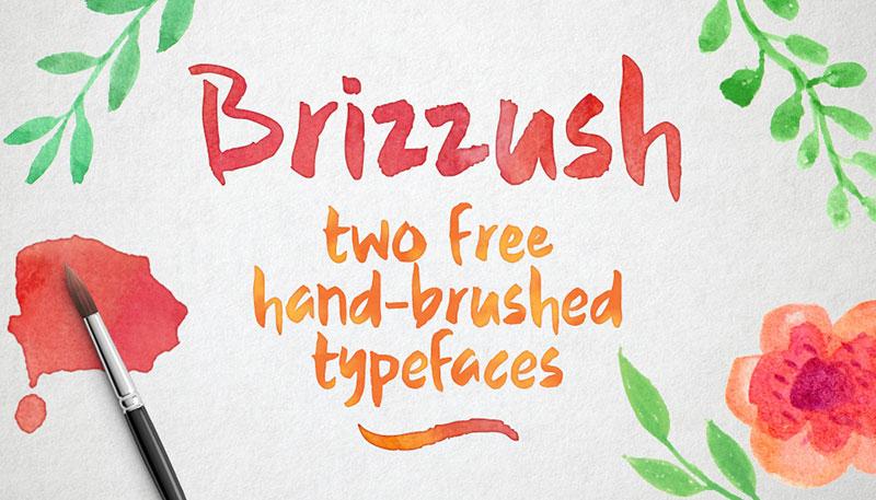 Brizzush Free Font