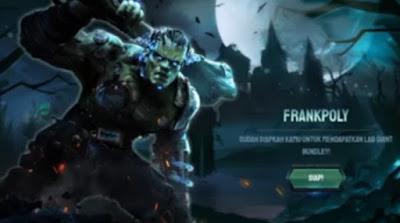 Hallo guys jumpa lagi bersama kami di pembahasan game Free Fire Frankpoly Free Fire: Cara Mendapatkan Bundle Hulk Lab Giant FF