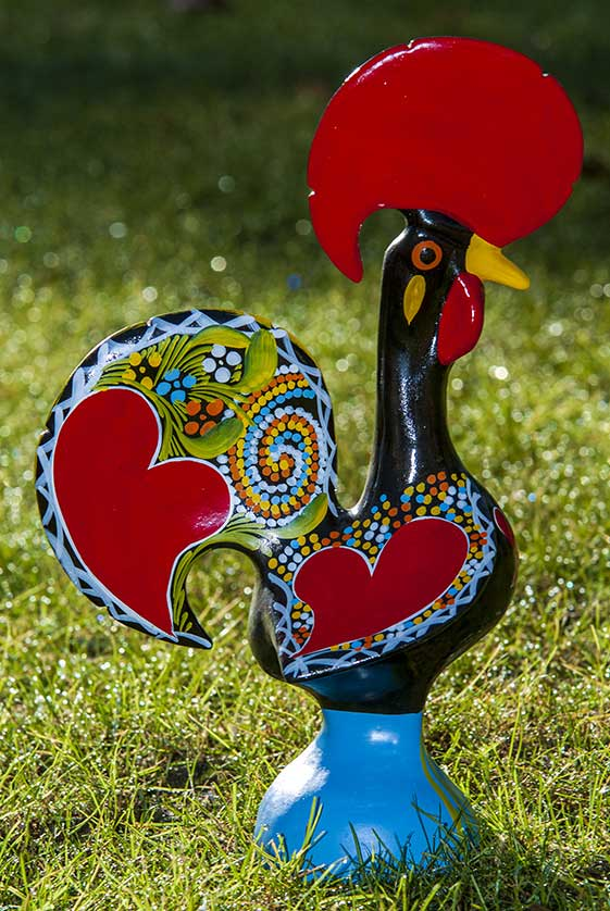 The Barcelos Rooster is an icon of Portugal