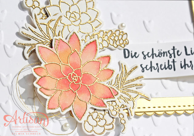 Card - So Succulent - Stampin Up - Sukkulente Akzente