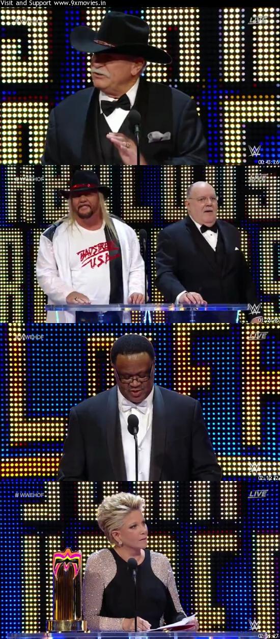 WWE Hall of Fame 2016 WEBRip 480p