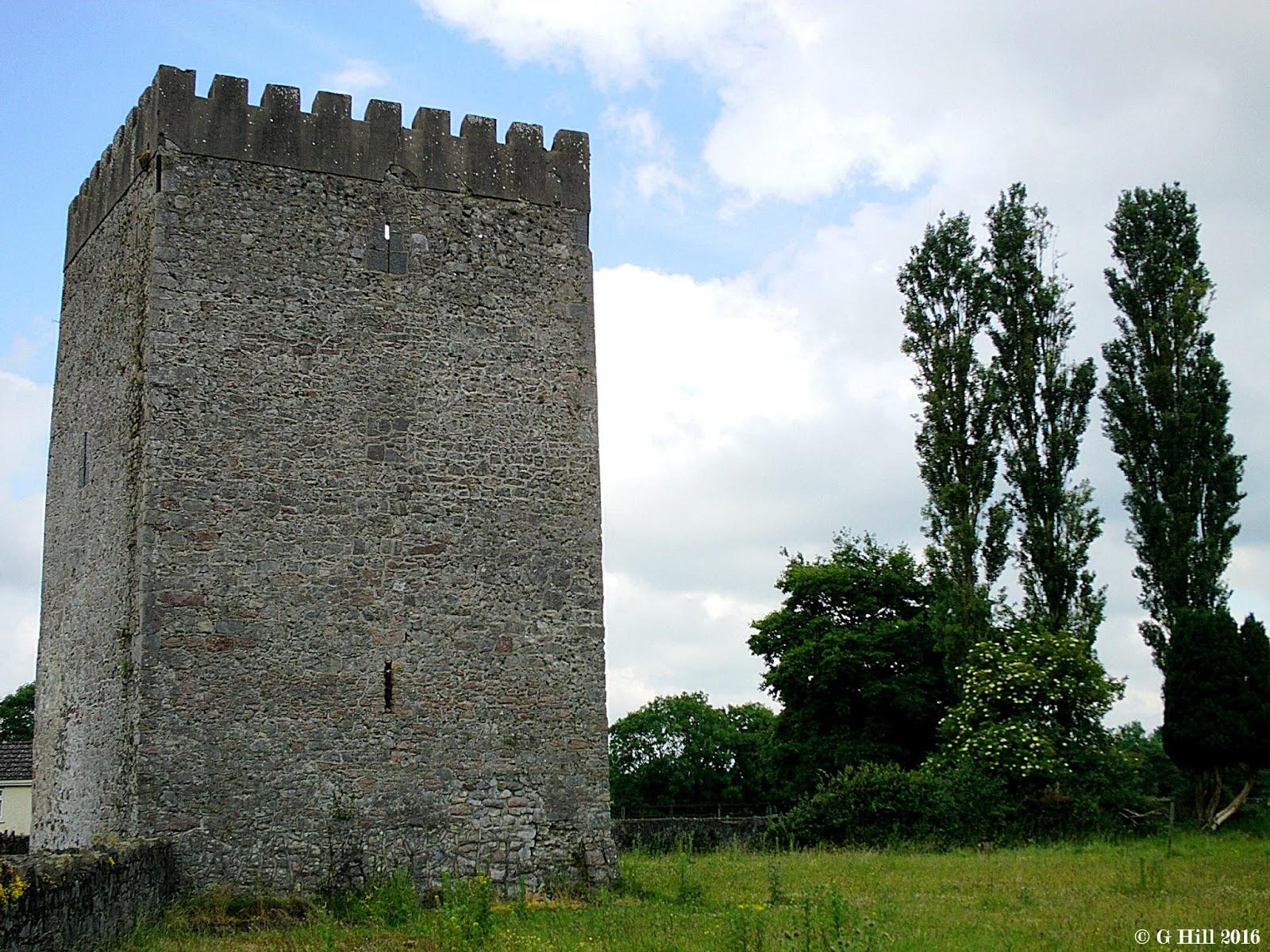Ireland In Ruins Ballyteague Castle Co Kildare
