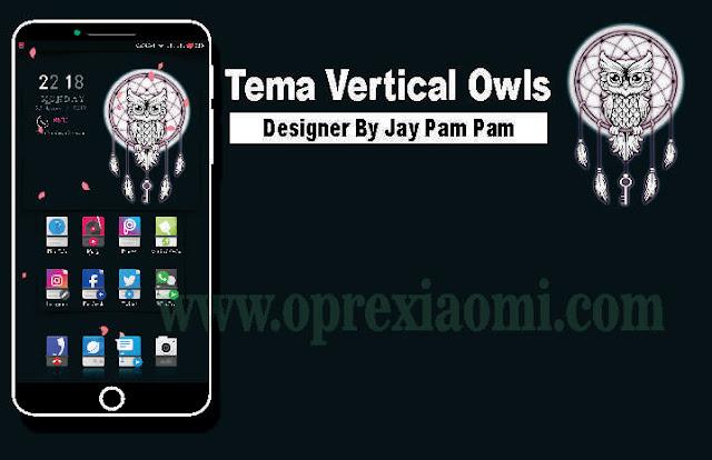 Tema Vertical Owls Mtz