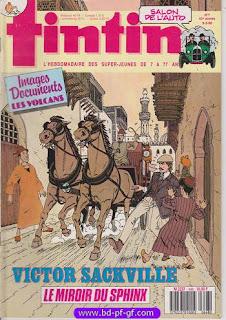 Tintin, numéro 4, 1988, Victor Sackville