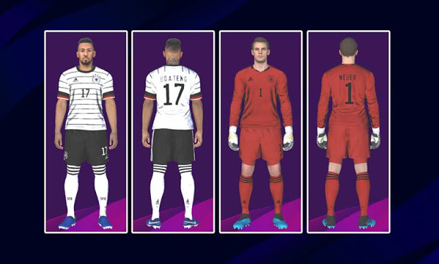 PES 2017 Germany Kits Euro 2020 By Kitmaker ZSC
