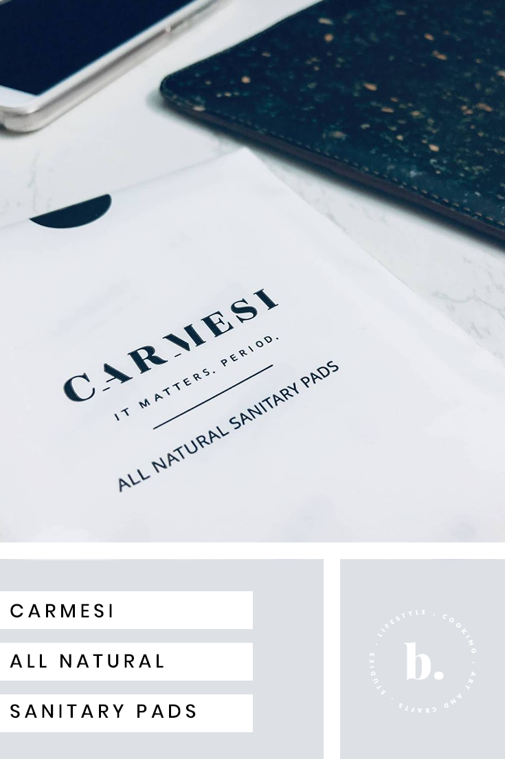 carmesi pads: all natural sanitary pads review