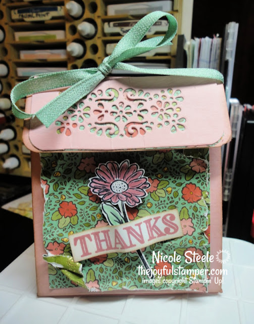flap top box | ornate garden | stampin up | nicole steele independent stampin' up! demonstrator