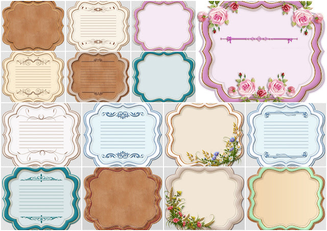 Free Printable First Communion Labels.
