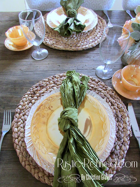 Tablescape for Casual Dining