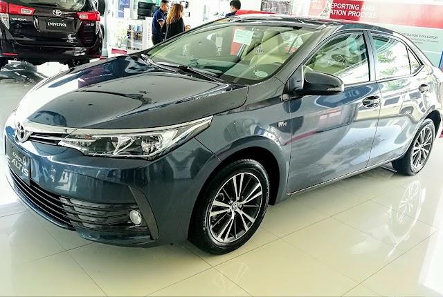 2017 Minor Change Toyota Corolla Altis