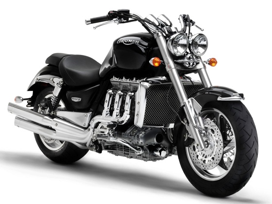 triumph power rocket bike