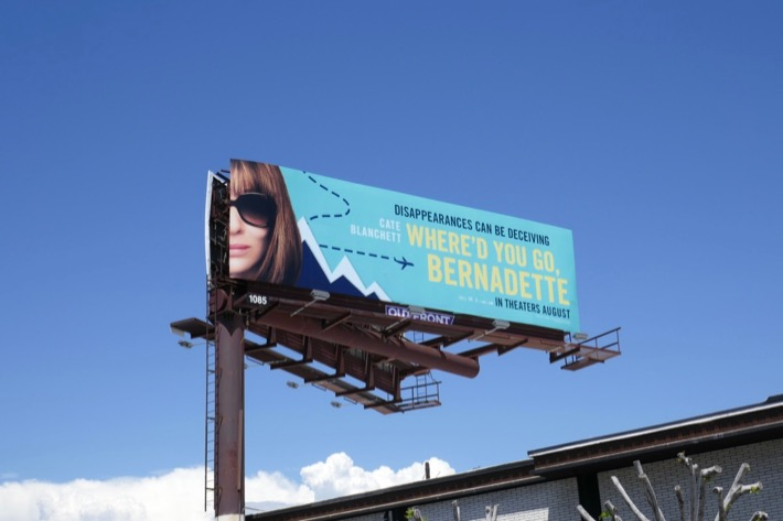 Whered You Go Bernadette billboard