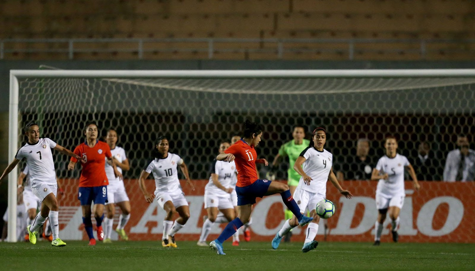 Costa Rica y Chile en Torneio Uber Internacional de Futebol Feminino de Seleções, 29 de agosto de 2019
