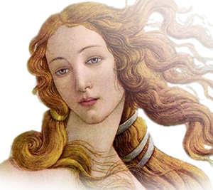 Το πρόσωπο της θεάς Αφροδίτης.