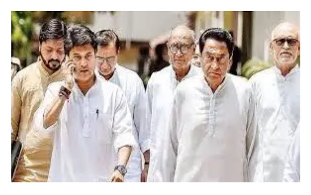 is congress government will fall in Madhya Pradesh ?