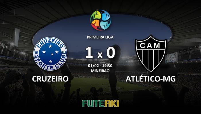 Veja o resumo da partida com os gols e os melhores momentos de Cruzeiro 1x0 Atlético-MG pela Primeira Fase da Primeira Liga 2017.