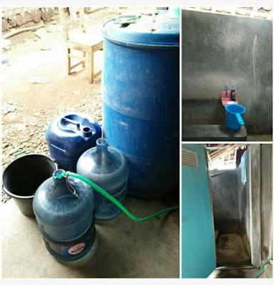 Menampung air di Wonogiri