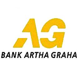 Logo PT Bank Artha Graha lnternasional
