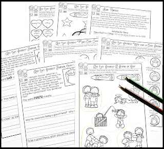 https://www.teacherspayteachers.com/Product/Social-Narrative-Set-Activities-Are-they-Friends-2459004