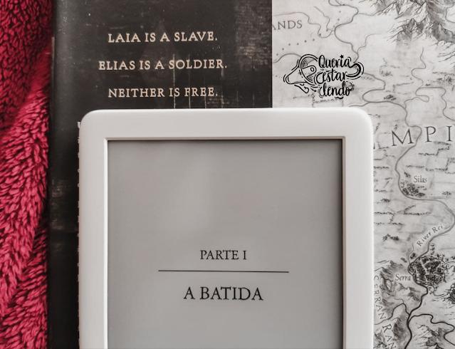 Resenha: Uma Chama entre as Cinzas - Sabaa Tahir