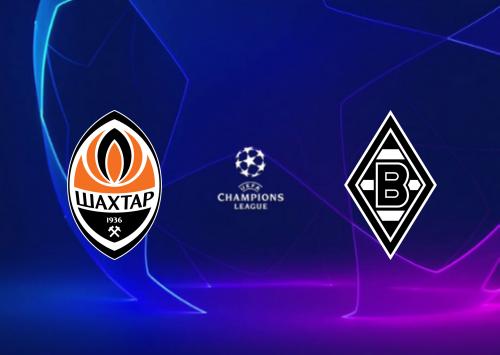 Shakhtar Donetsk vs Borussia M'gladbach -Highlights 03 November 2020