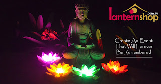 LED Lotus Flower Lantern