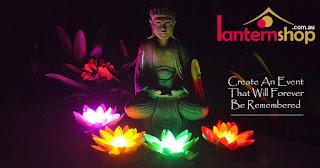 LED Lotus Flower Lantern