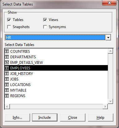 How to Create LOV in Oracle Forms Using Wizard ? -Select Table