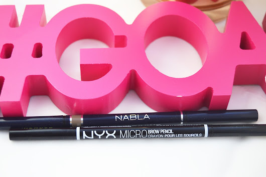 Pretty Little Lawyer: Comparando productos de cejas | NYX, NABLA, ABH, FREEDOM
