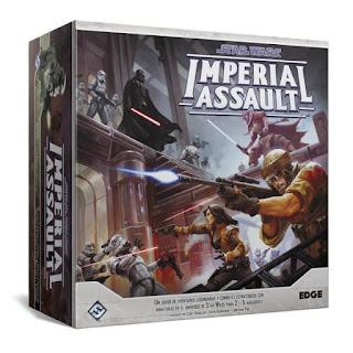 Star Wars imperial assault el juego de mesa con miniaturas