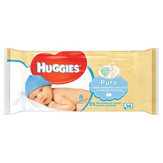 £0.70 Huggies Pure Baby Wipes, 56 Wipes, The gentle purity of cotton wool, best price