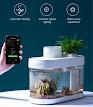 smart mini aquarium with smartphone app