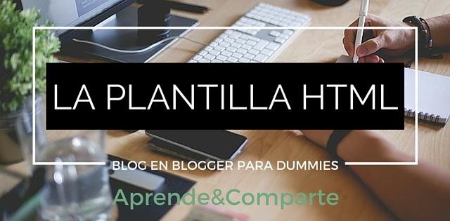plantilla html para blogger conceptos basicos