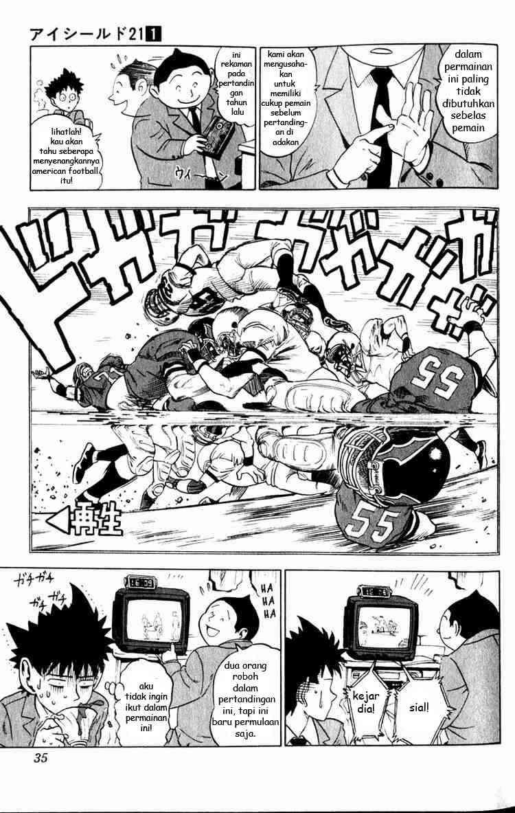 Komik eyeshield 21 001 - seseorang dengan kaki emas 2 Indonesia eyeshield 21 001 - seseorang dengan kaki emas Terbaru 32 Baca Manga Komik Indonesia 