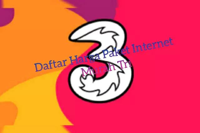 Daftar Paket Internet Murah Tri 2020