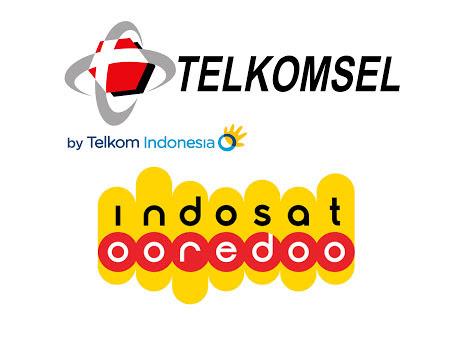 telkomsel melawan Indosat
