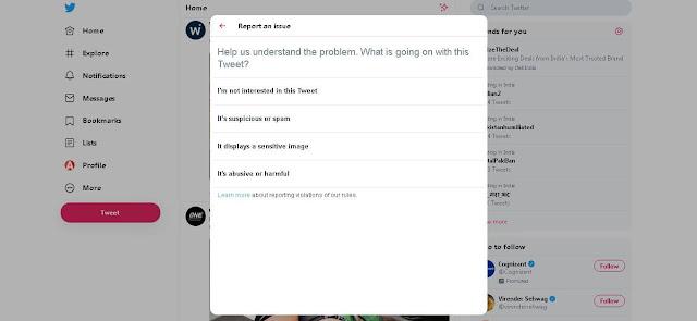 Report - Twitter Tricks