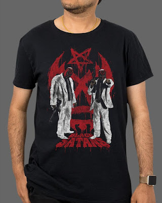 "FRIGHT-RAGS' 3 FROM HELL ""THE BLACK SATANS"" TEE."