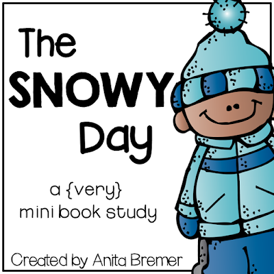 FREE book activities to go with The Snowy Day by Ezra Jack Keats